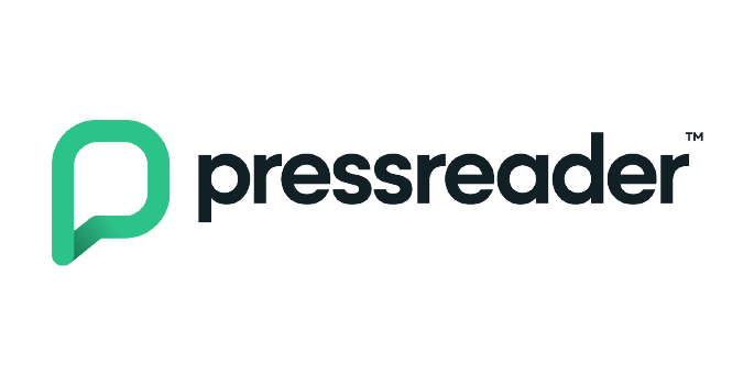 PressReader logo.
